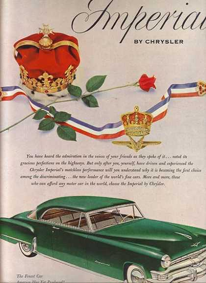 Chrysler's Imperial (1952)