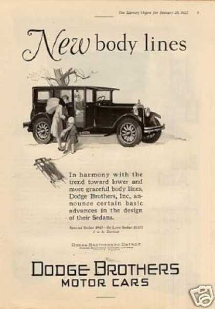 Dodge Brothers Car (1927)