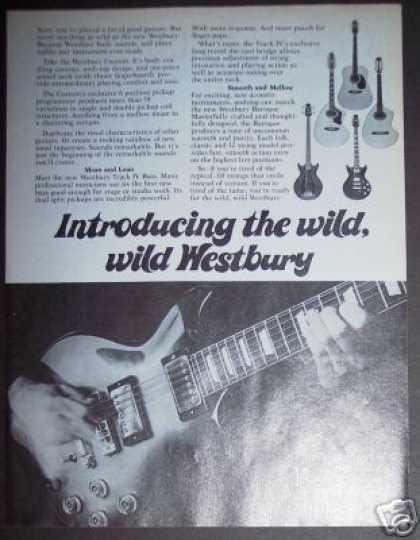 Westbury Custom Arch-top Guitar Photo (1978)