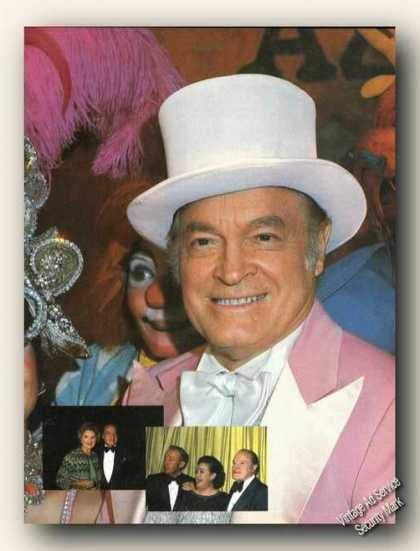Nice Bob Hope Magazine Photo Print Feature (1978)