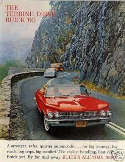 Buick Convertible Car (1960)