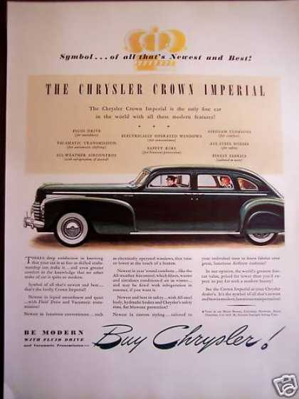 Chrysler Crown Imperial Classic Automobile (1941)