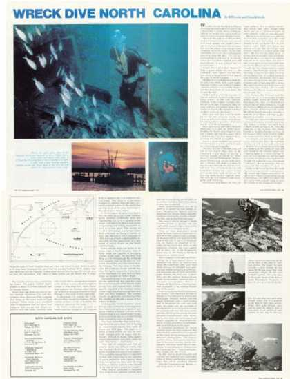 Wreck Dive North Carolina Article (1976)