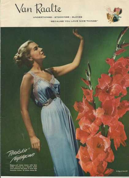 Van Raalte Undertings for Women (1946)