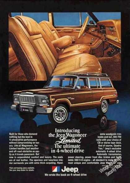 Jeep Wagoneer Limited 4-wheel Drive (1979)
