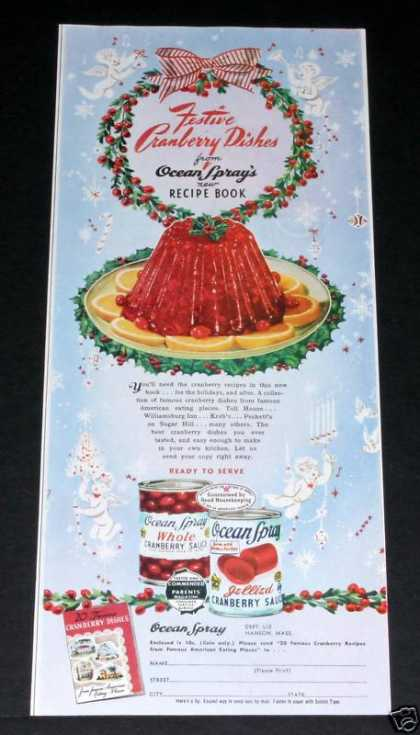 Ocean Spray Cranberry Sauce (1949)