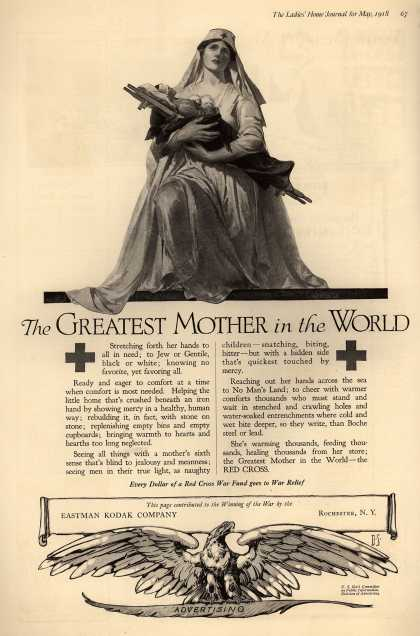 Kodak's Red Cross Support – The Greatest Mother in the World (1918)