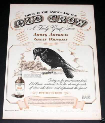 Old Crow Whisky, Ask for It (1944)
