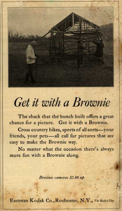 Kodak's Brownie cameras – Get it with a Brownie (1923)