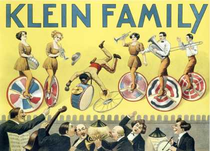 Klein Unicycle Family Circus
