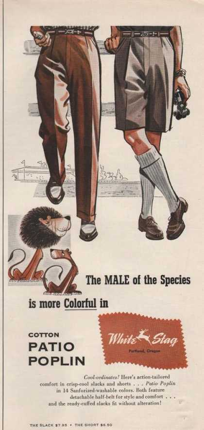 White Stage Mens Clothing (1955)