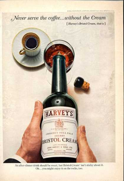 Harvey's Bristol Cream Bottle (1965)
