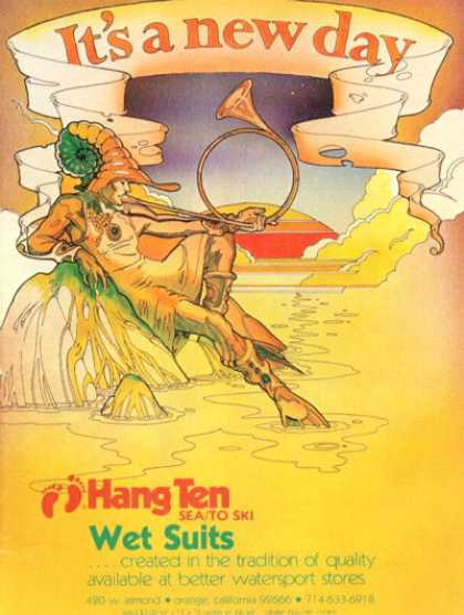 Hang Ten Sea To Ski Wet Suits (1976)