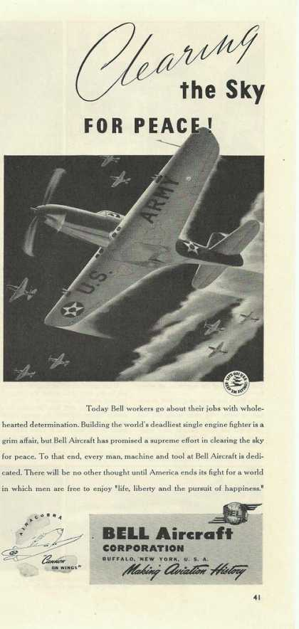 Bell Military Aircraft Airplane (1942)