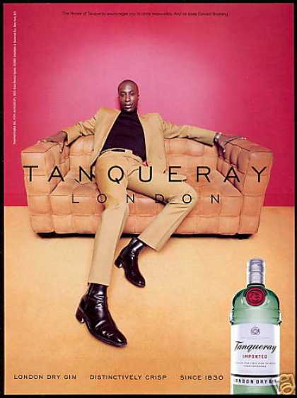 Tanqueray London Gin Ozwald Boating Photo (2001)