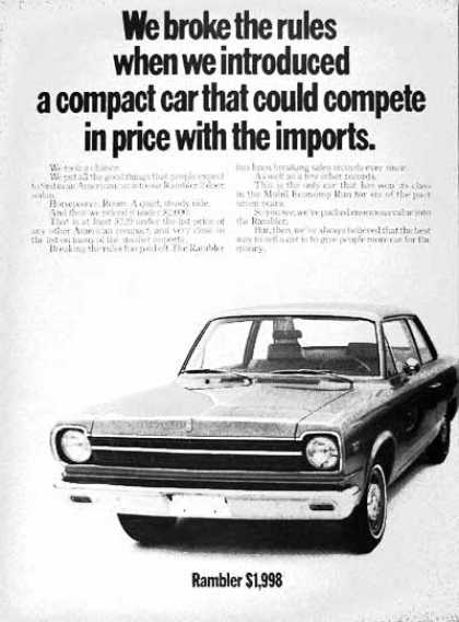 AMC Rambler Coupe (1969)