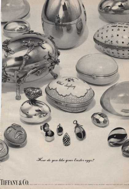 Tiffany & Co Easter Eggs Photo (1966)