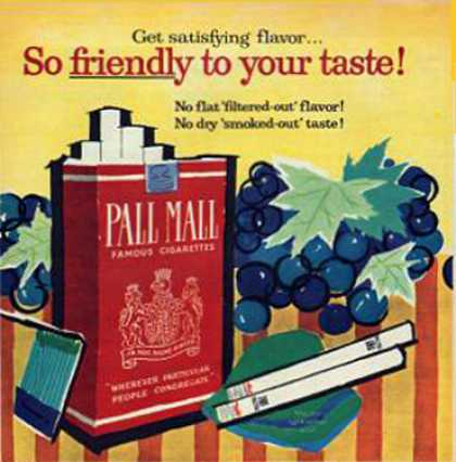 Pall Mall – Mary Blair - (1958)