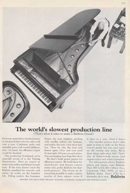 Baldwin Grand Piano (1965)