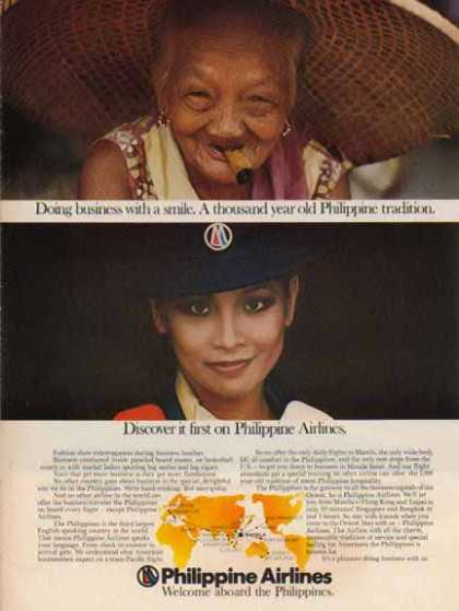 Philippine Air Lines – 1000 Year old Tradition (1976)