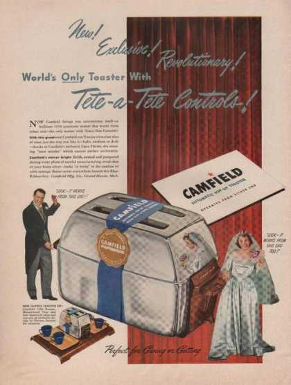 Camfield Automatic Pop Up Toaster (1949)