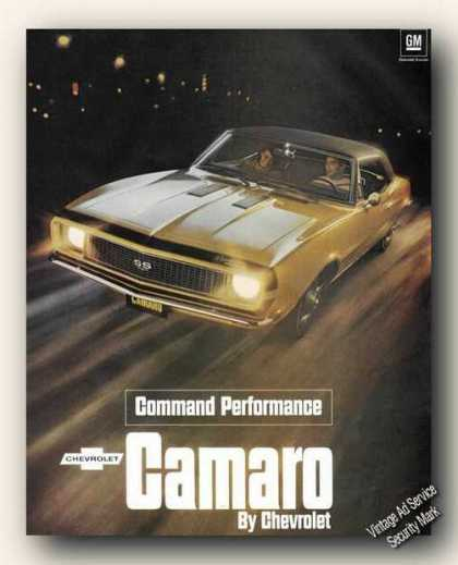 Camaro By Chevrolet Command Performance (1967)