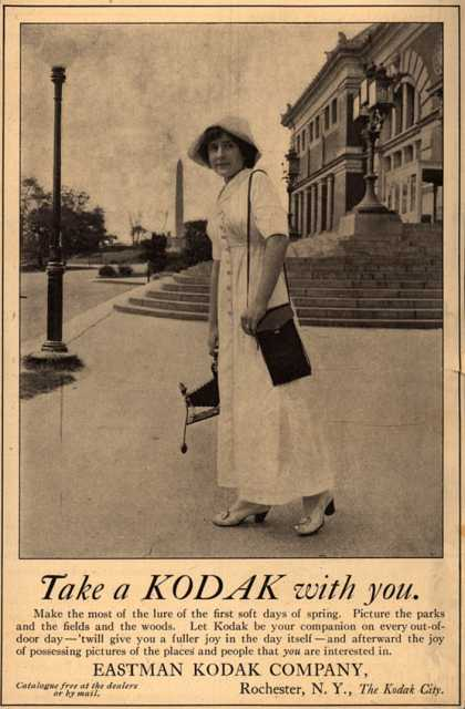 Kodak – Take a Kodak with you (1912)