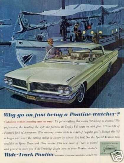 "Pontiac Catalina Car Ad ""Why Go On Just... (1962)"