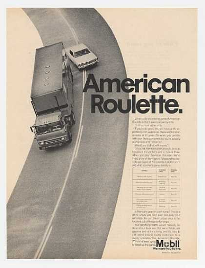 Mobil Oil American Roulette Unsafe Driving (1967)