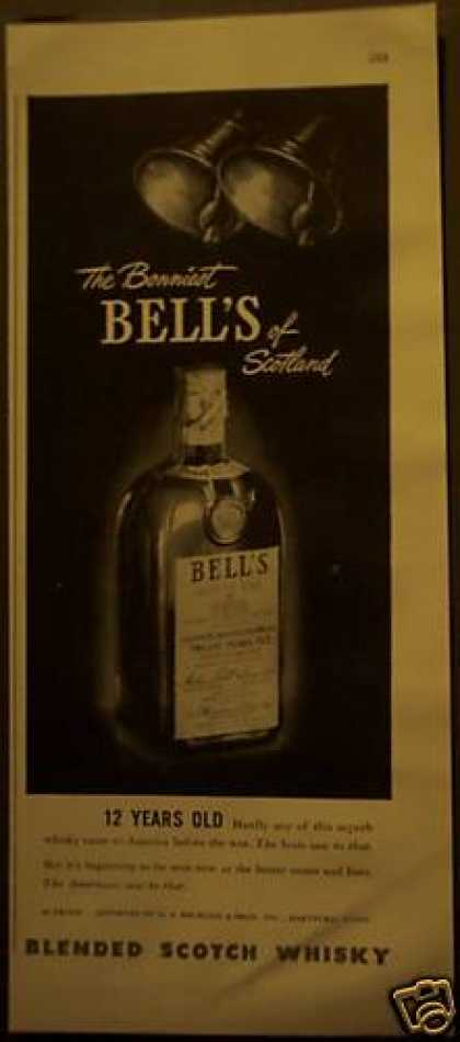 Original Bell's Blended Scotch Whisky (1948)