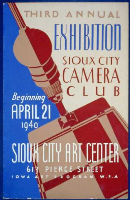 Third annual exhibition, Sioux City Camera Club. (1940)