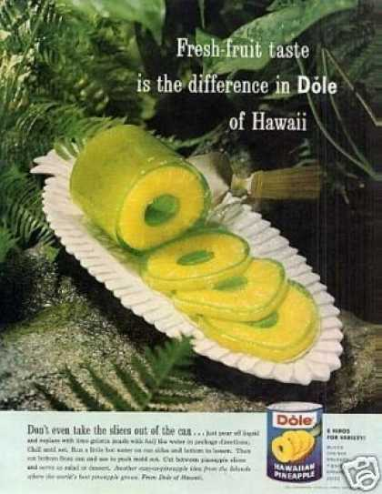 Dole Pineapple (1961)