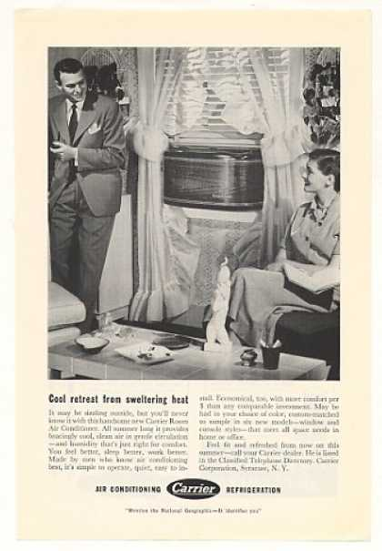 Carrier Room Air Conditioner Photo (1950)