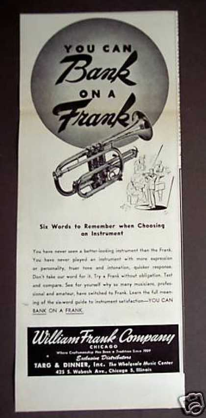 William Frank Musical Instruments Music (1948)