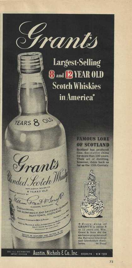 Grants Blended Scotch Whisky (1950)