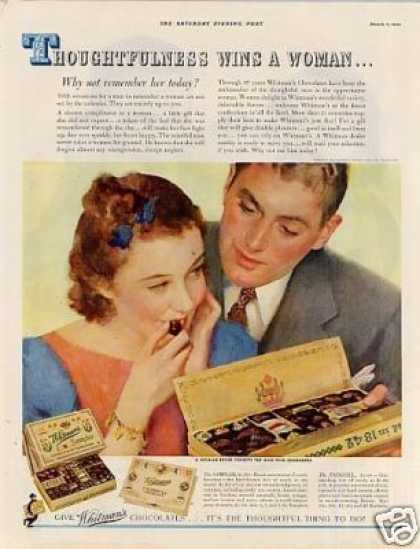 Whitman's Chocolate Candy Color (1939)