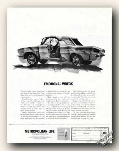 Metropolitan Life Insurance Emotional Wreck (1962)
