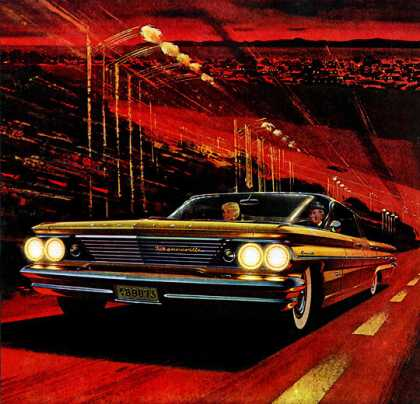 Pontiac Bonneville Vista sedan (1960)