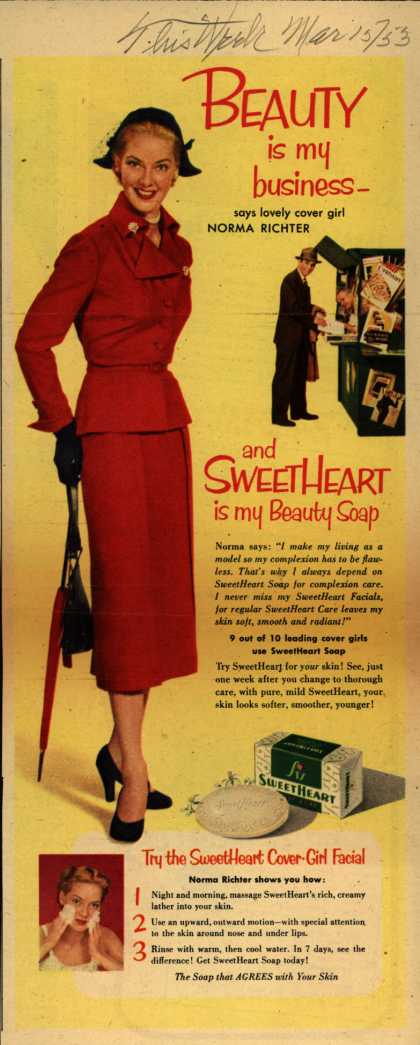 SweetHeart – Beauty is my business- (1953)