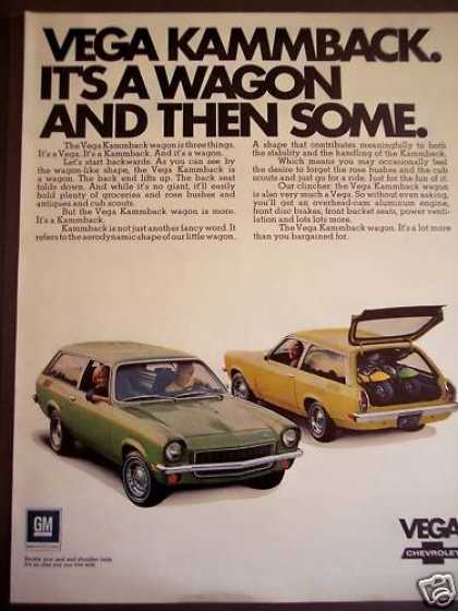 Chevrolet Vega Kammback Wagon Car (1971)
