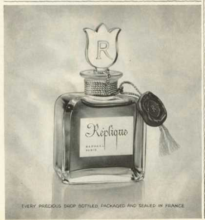 Replique Raphael Paris Perfume Bottle (1961)