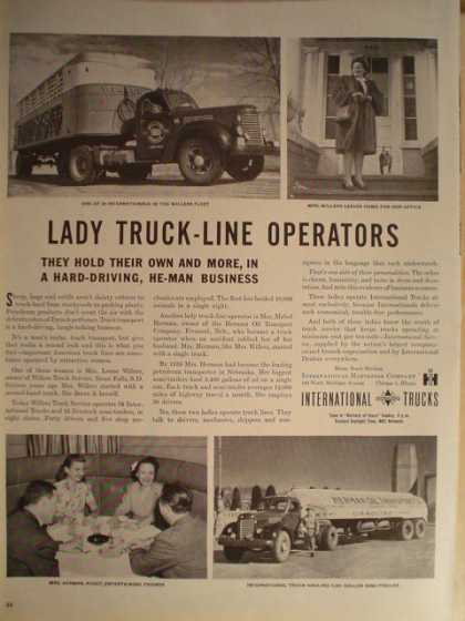International trucks Lady truck line (1946)