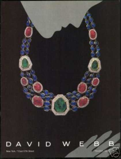 David Webb Jewelry Deco Art (1984)