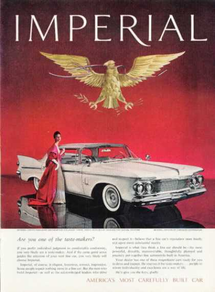 Chrysler Imperial Crown Roxanne Dress (1961)