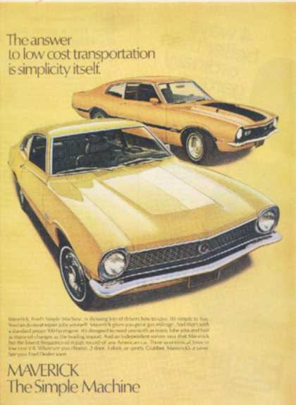 Ford's Maverick (1971)