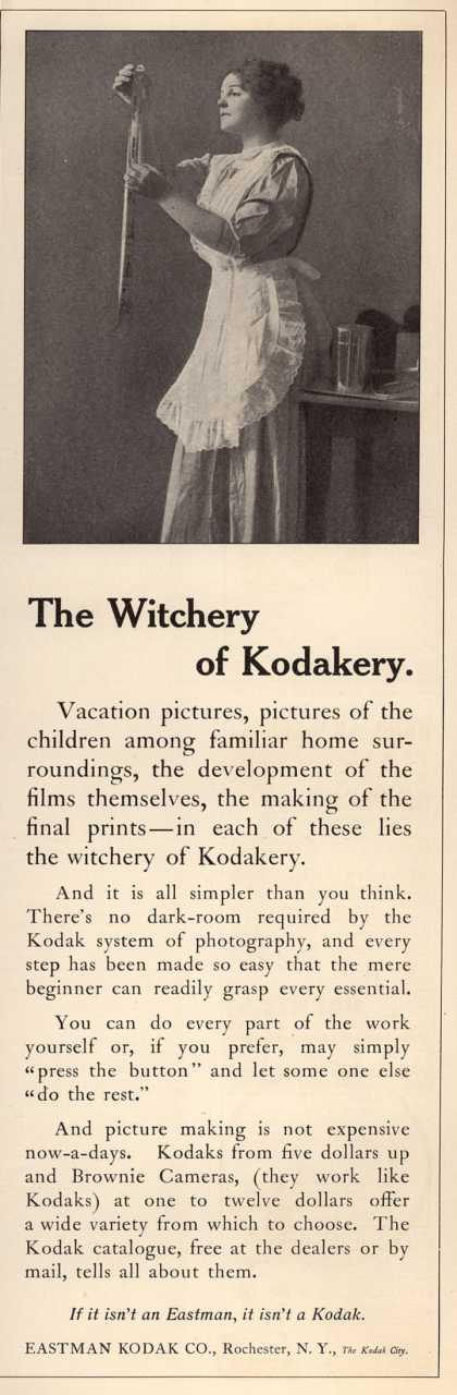 Kodak – The Witchery of Kodakery (1911)