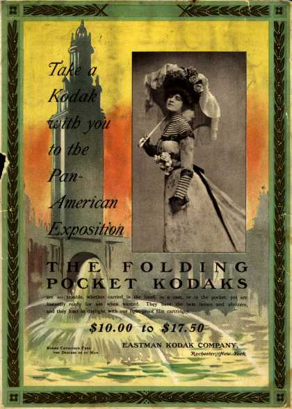 Kodak's Folding Pocket cameras – The Folding Pocket Kodaks (1901)