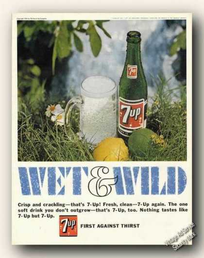 7up Wet & Wild First Against Thirst (1967)