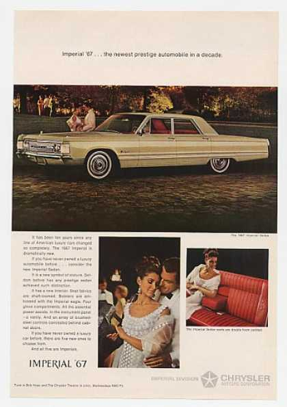 '66 1967 Chrysler Imperial Sedan Newest Prestige (1966)