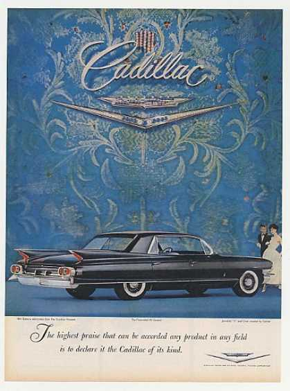 Black Cadillac Fleetwood 60 Special High Praise (1961)